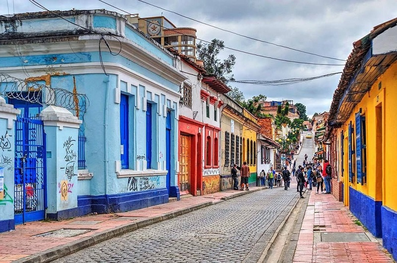 La Candelaria bairro - Bogotá