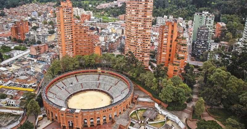 Bairro La Macarena em Bogotá