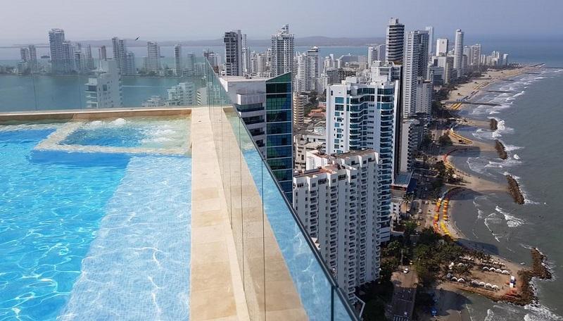 Bocagrande em Cartagena