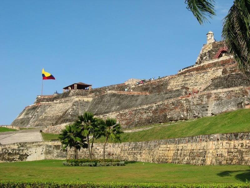 O Que Fazer Em Cartagena das Índias: Ir ao Castelo San Felipe de Barajas em Cartagena das Índias