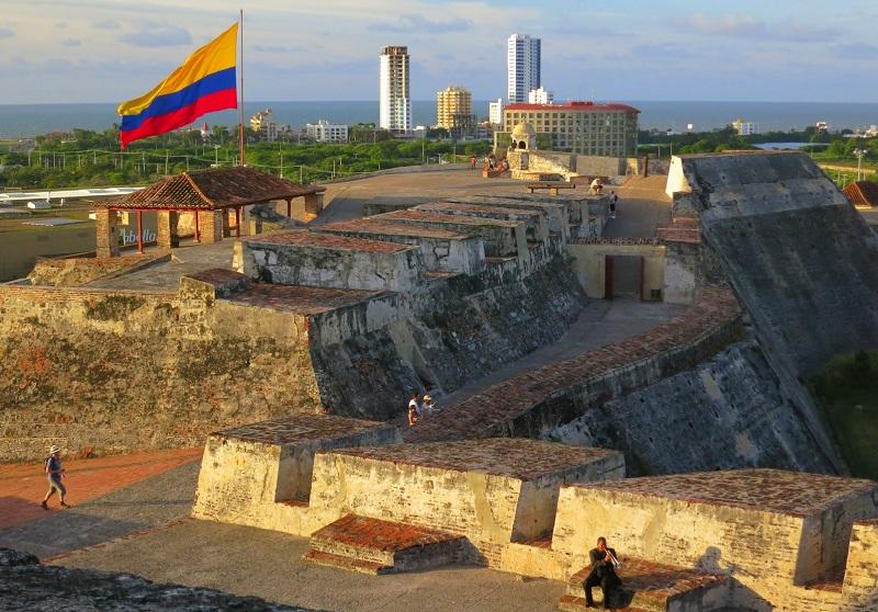Castelo San Felipe de Barajas - Cartagena