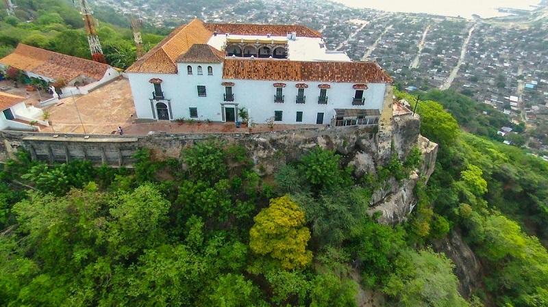 Convento de La Popa em Cartagena