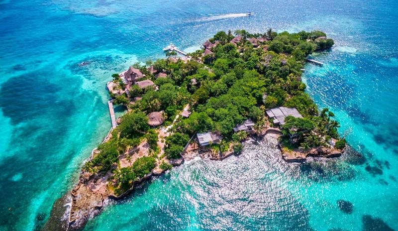 Ilhas do Rosário em Cartagena