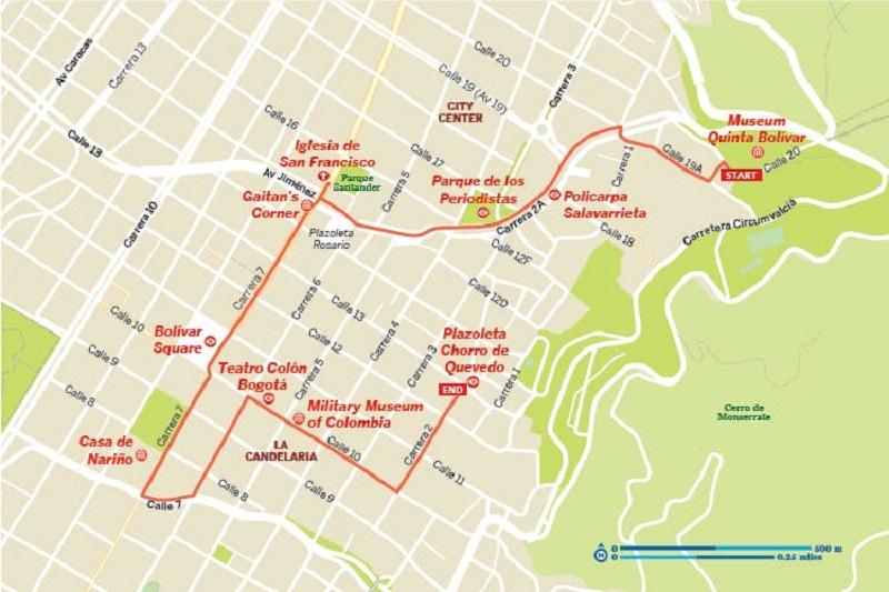 Mapa - Bogotá
