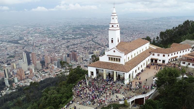 Monserrate em Bogotá