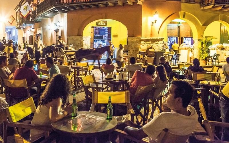 Noite em Cartagena - Getsemaní