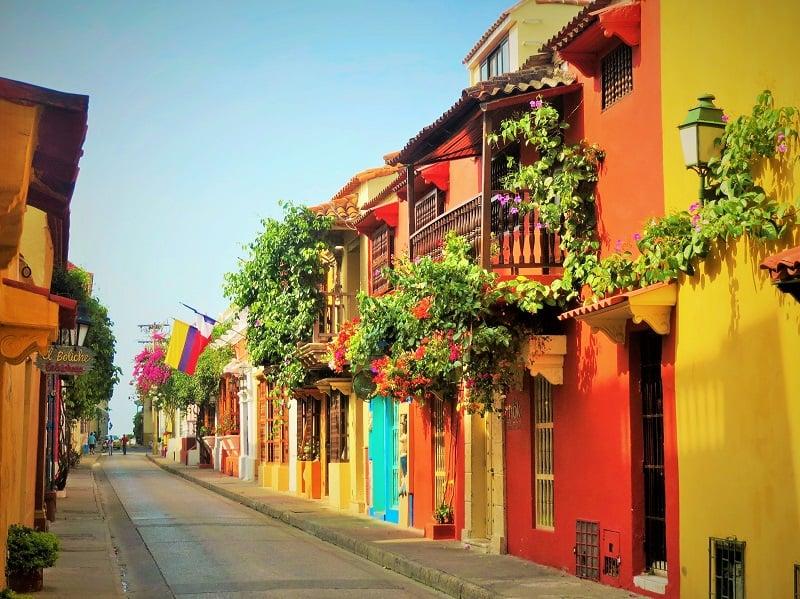 Cidade amuralhada em Cartagena