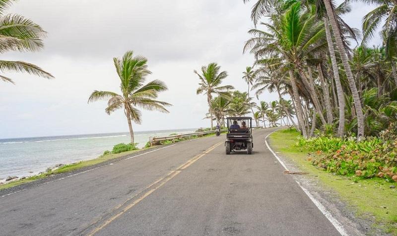 Andarde carro em San Andrés