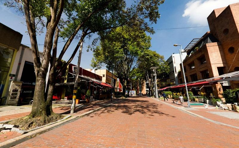Zona T em Bogotá