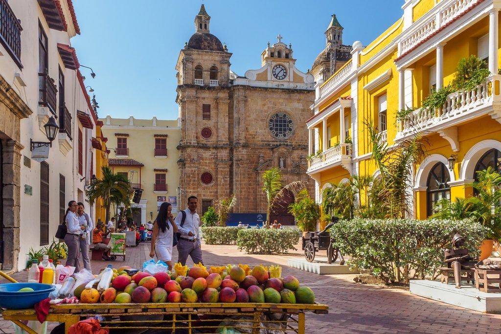 Centro de Cartagena das Índias e explorar