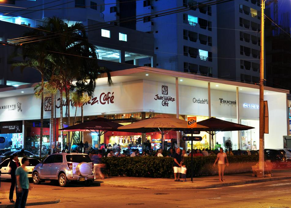 Juan Valdéz Café em Cartagena