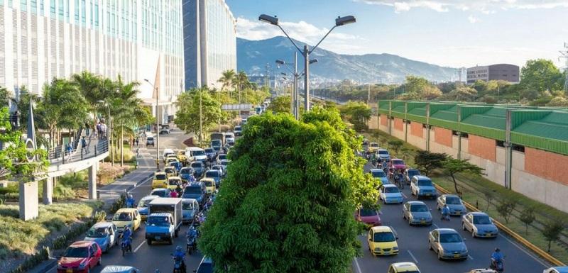 Carros na Colômbia