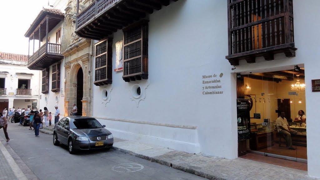 Museo de la Esmeralda em Cartagena