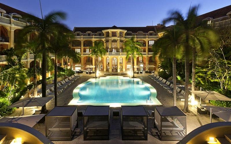 Hotel sofisticado em Cartagena