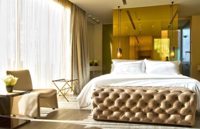 Quarto de hotel na Colômbia