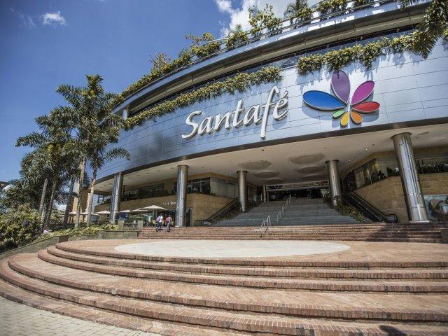 Centro Comercial Santafé em Bogotá
