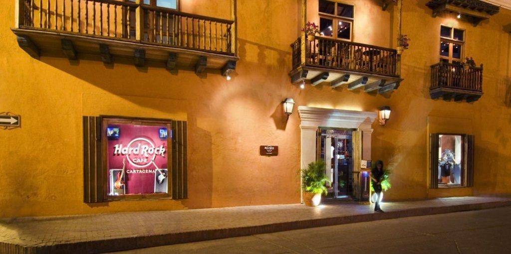 Hard Rock Cafe em Cartagena