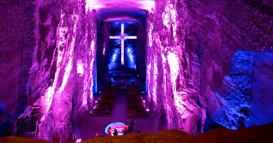 Catedral de Sal em Zipaquirá, Colômbia