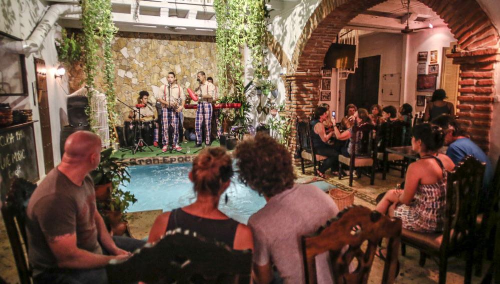 Restaurante Cuba 1940 em Cartagena