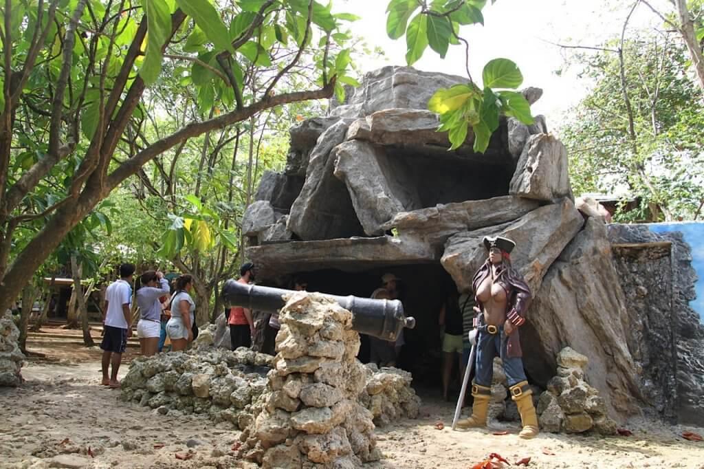 Cueva de Morgan em San Andrés