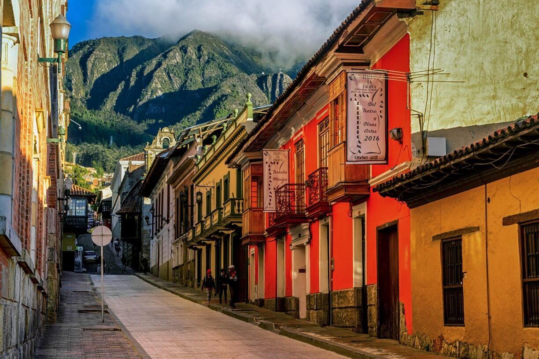 Casas de La Candelaria: o centro de Bogotá