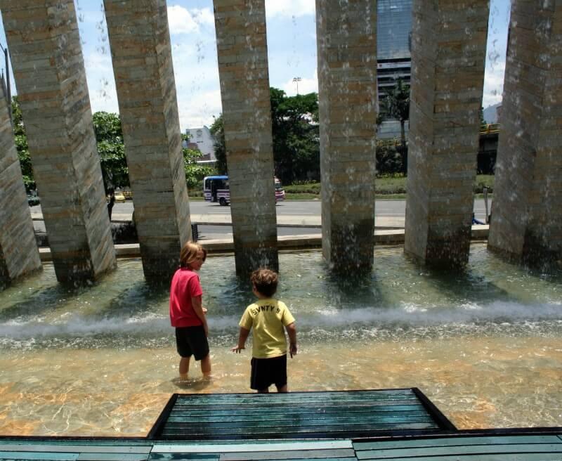 Verão com crianças em Medellín