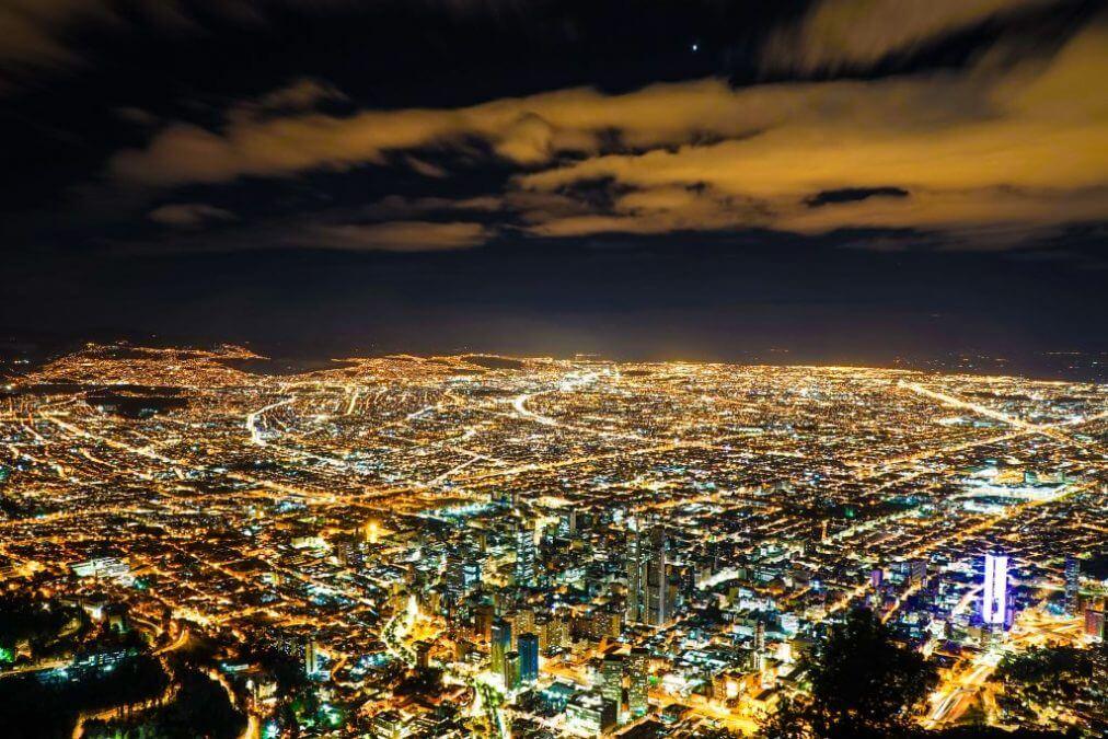 Noite em Bogotá