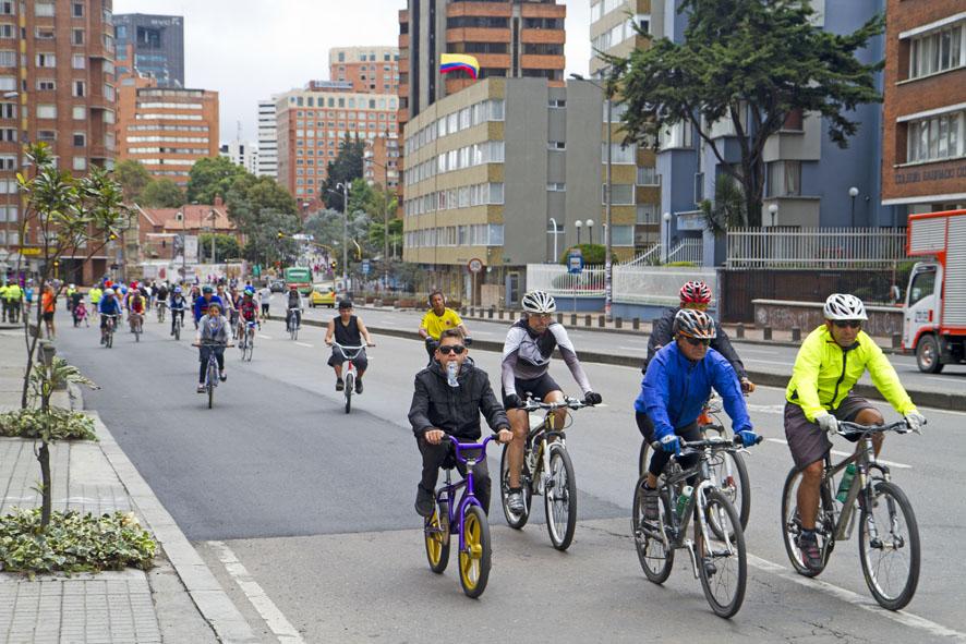 Como andar de bicicletas em Bogotá