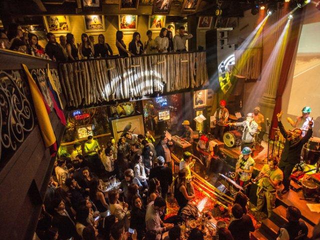 Bares em Bogotá