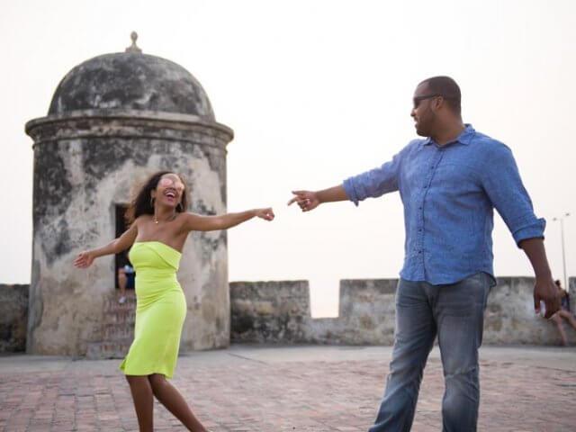 Lua de mel em Cartagena