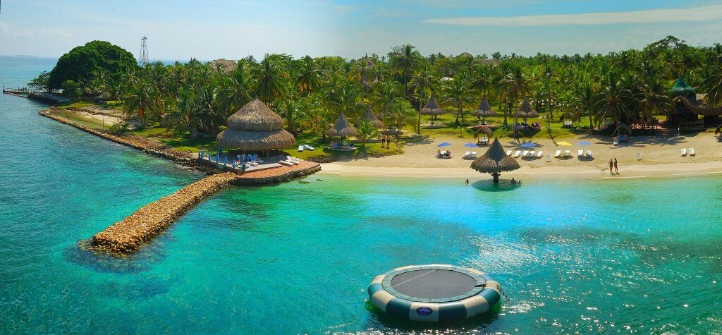 Ilhas do Rosário - Cartagena das Índias