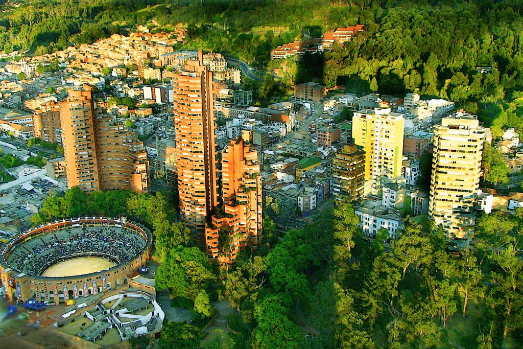 Região de La Macarena em Bogotá
