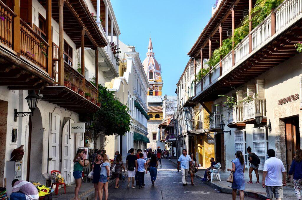 Como andar a pé por Cartagena