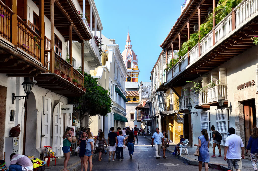 Ruela em Cartagena