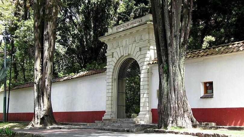 Quinta de Bolívar em Bogotá
