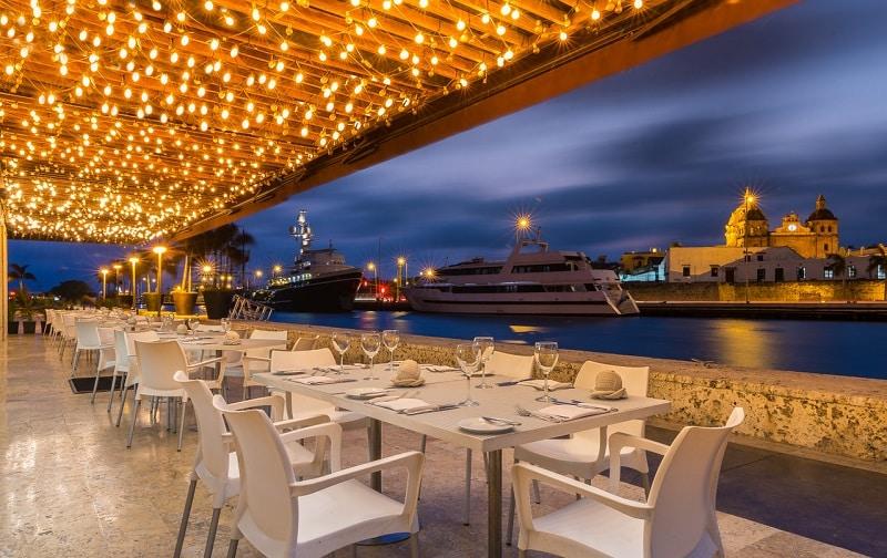 Restaurante em Cartagena - Colômbia