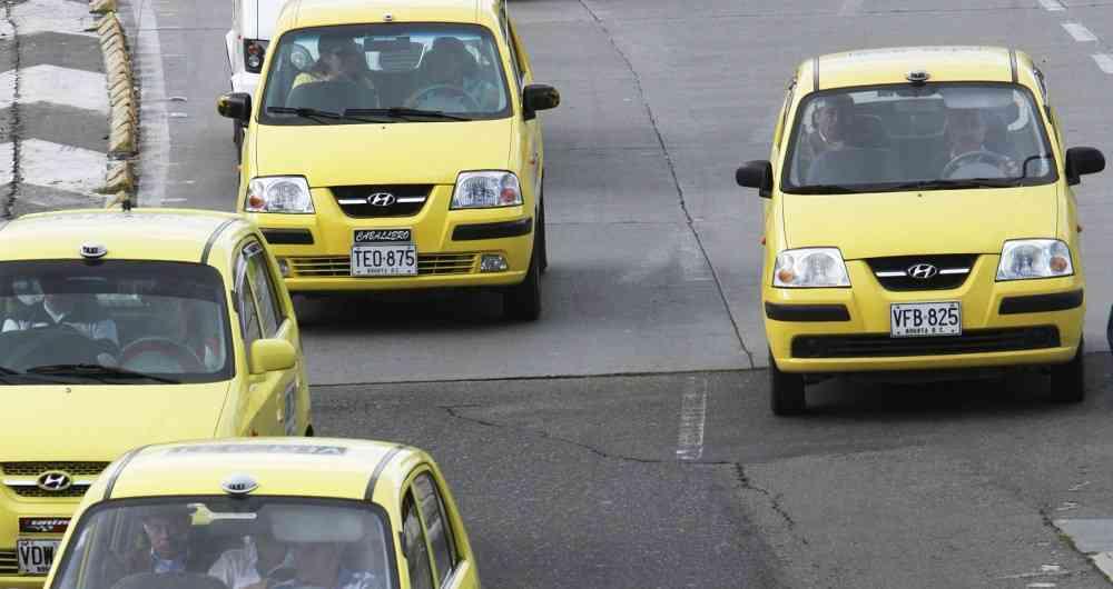Como andar de Táxi/Uber em Boogotá