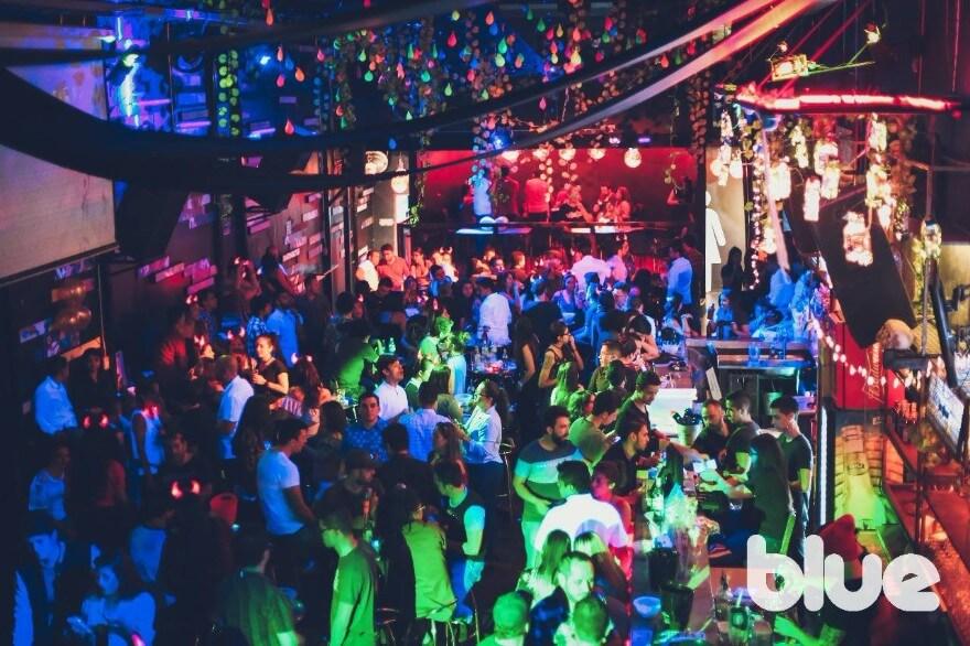 The Blue Bar em Medellín