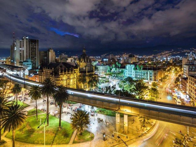 Remessas internacionais para Medellín