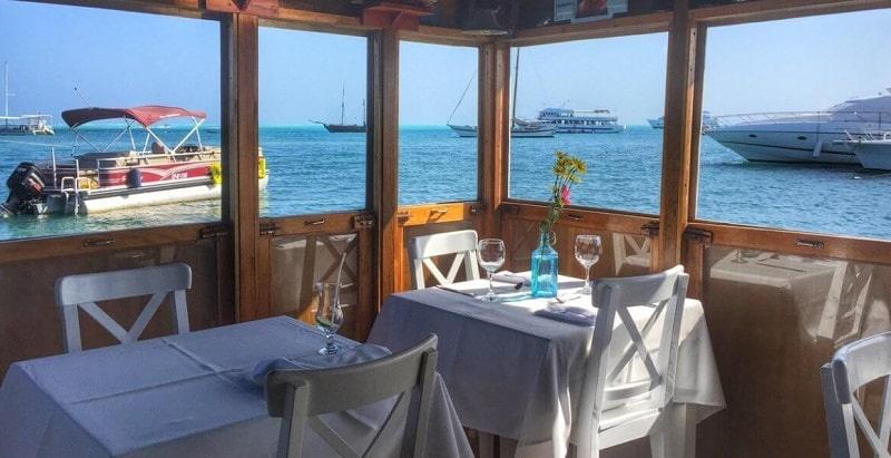 Restaurante em San Andrés