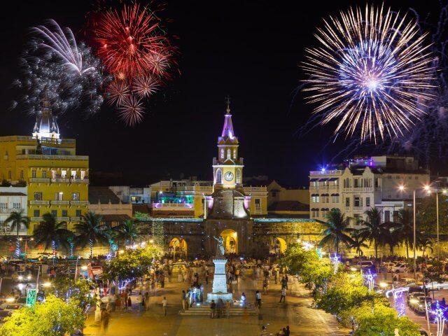 Ano Novo em Bogotá