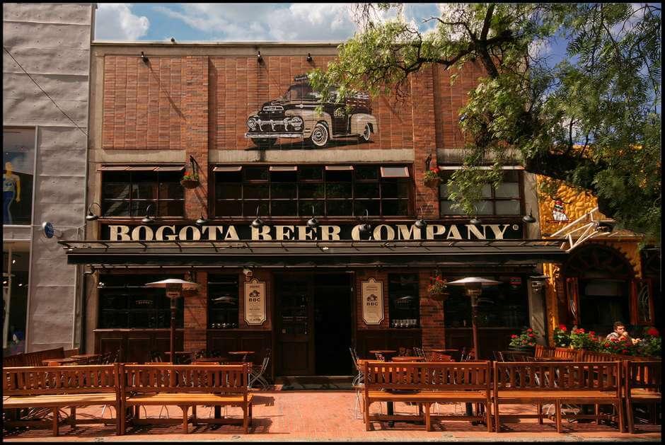 Bogotá Beer Company na Zona Rosa
