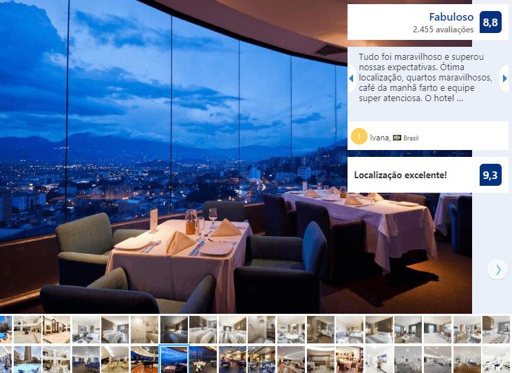 Restaurante do Hotel Dann Carlton Medellín