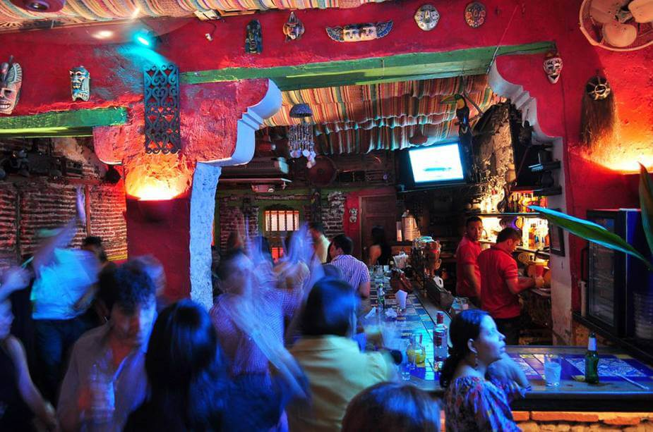 Ano novo nas festas em San Andrés