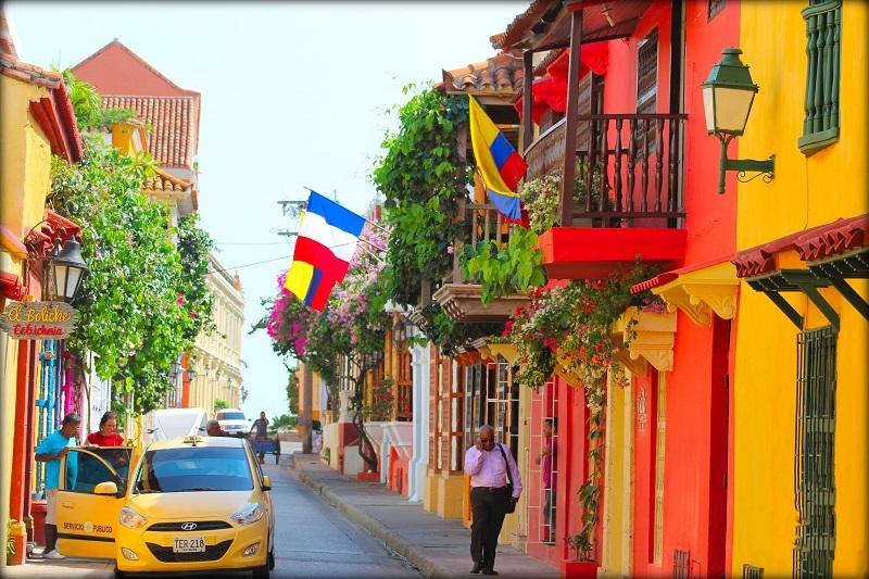 Ruela colorida de Cartagena