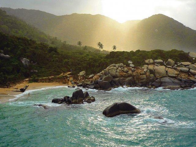 Praias do Parque Nacional Natural de Tayrona