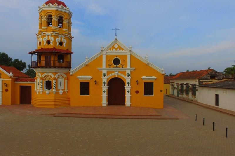Igreja em Santa Cruz de Mompox
