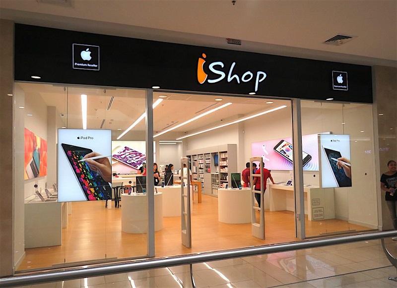 Loja iShop em Bogotá