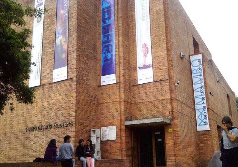 Entrada do Museu de Arte Moderna de Bogotá