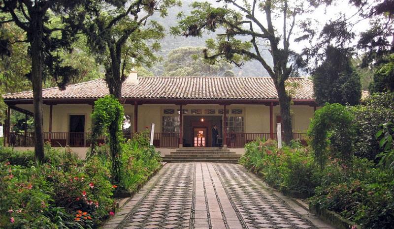 Museu Casa Quinta de Bolívar em Bogotá